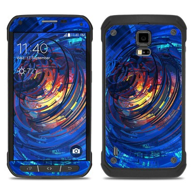 Samsung Galaxy S5 Active Skin - Clockwork