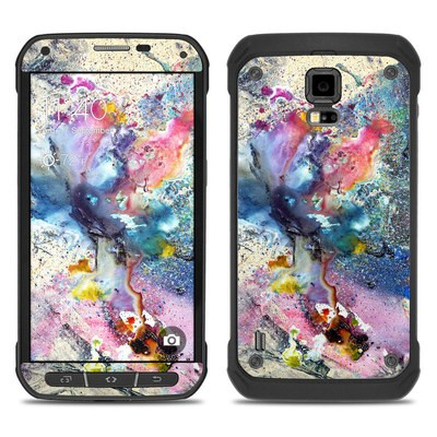 Samsung Galaxy S5 Active Skin - Cosmic Flower