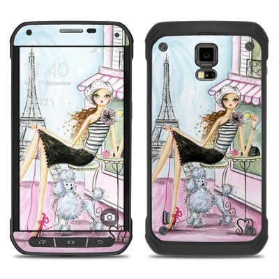 Samsung Galaxy S5 Active Skin - Cafe Paris