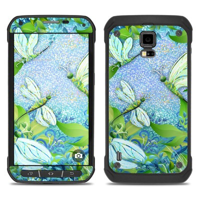 Samsung Galaxy S5 Active Skin - Dragonfly Fantasy