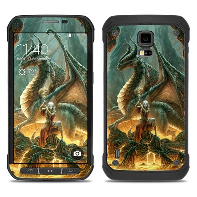 Samsung Galaxy S5 Active Skin - Dragon Mage