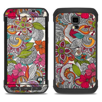 Samsung Galaxy S5 Active Skin - Doodles Color