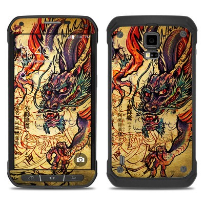 Samsung Galaxy S5 Active Skin - Dragon Legend