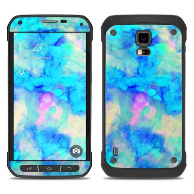 Samsung Galaxy S5 Active Skin - Electrify Ice Blue