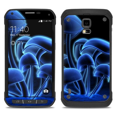 Samsung Galaxy S5 Active Skin - Fluorescence Blue