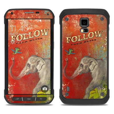 Samsung Galaxy S5 Active Skin - Follow Your Bliss