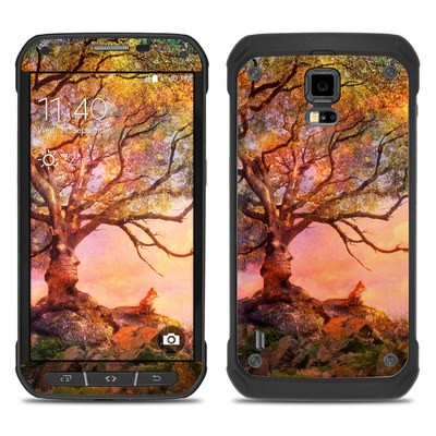 Samsung Galaxy S5 Active Skin - Fox Sunset