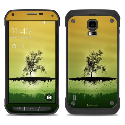 Samsung Galaxy S5 Active Skin - Flying Tree Amber