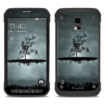 Samsung Galaxy S5 Active Skin - Flying Tree Black