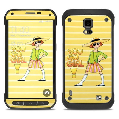 Samsung Galaxy S5 Active Skin - You Go Girl