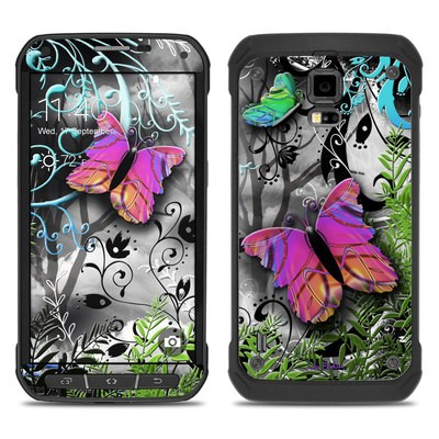 Samsung Galaxy S5 Active Skin - Goth Forest