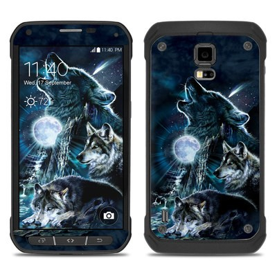 Samsung Galaxy S5 Active Skin - Howling