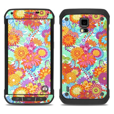 Samsung Galaxy S5 Active Skin - Jubilee Blooms