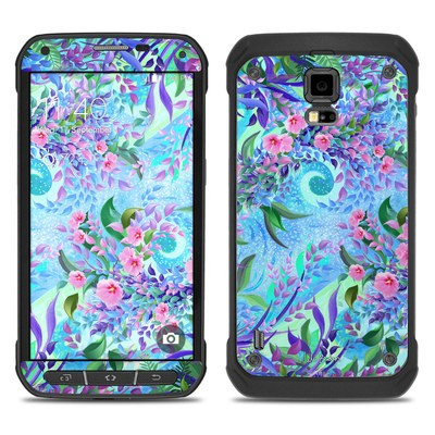 Samsung Galaxy S5 Active Skin - Lavender Flowers