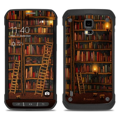 Samsung Galaxy S5 Active Skin - Library