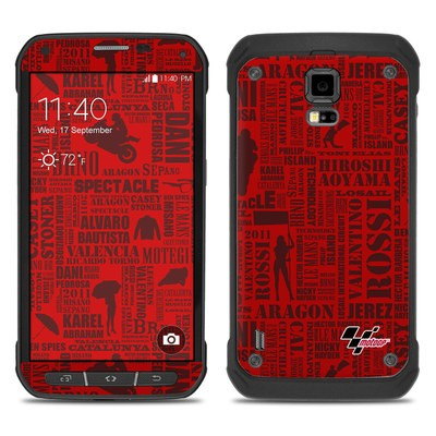 Samsung Galaxy S5 Active Skin - Life of MotoGP