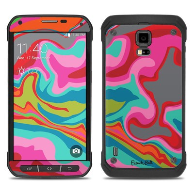 Samsung Galaxy S5 Active Skin - Marble Bright