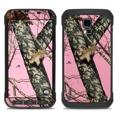 Samsung Galaxy S5 Active Skin - Break-Up Pink