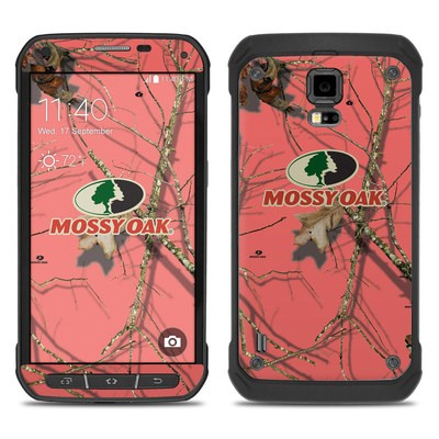 Samsung Galaxy S5 Active Skin - Break-Up Lifestyles Salmon