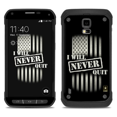 Samsung Galaxy S5 Active Skin - Never Quit