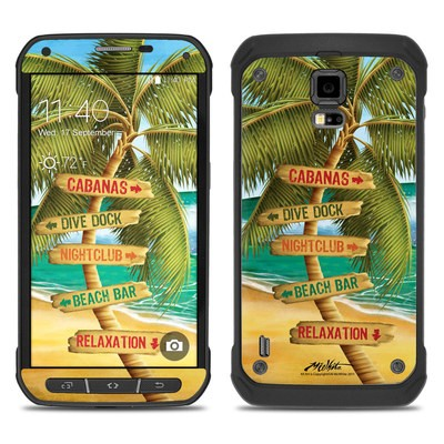 Samsung Galaxy S5 Active Skin - Palm Signs