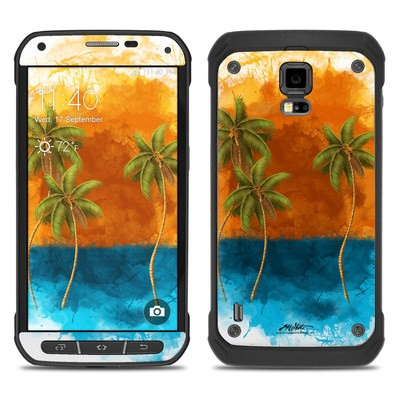 Samsung Galaxy S5 Active Skin - Palm Trio