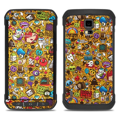 Samsung Galaxy S5 Active Skin - Psychedelic