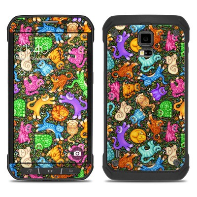 Samsung Galaxy S5 Active Skin - Sew Catty
