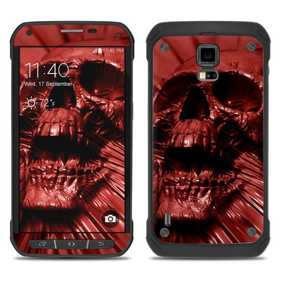 Samsung Galaxy S5 Active Skin - Skull Blood