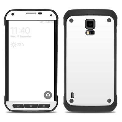 Samsung Galaxy S5 Active Skin - Solid State White
