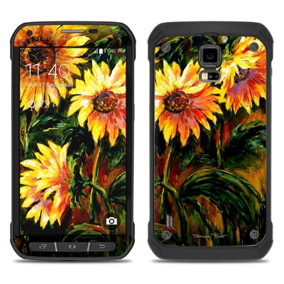 Samsung Galaxy S5 Active Skin - Sunflower Sunshine