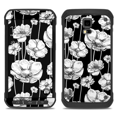 Samsung Galaxy S5 Active Skin - Striped Blooms