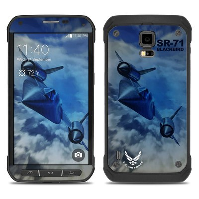 Samsung Galaxy S5 Active Skin - Blackbird