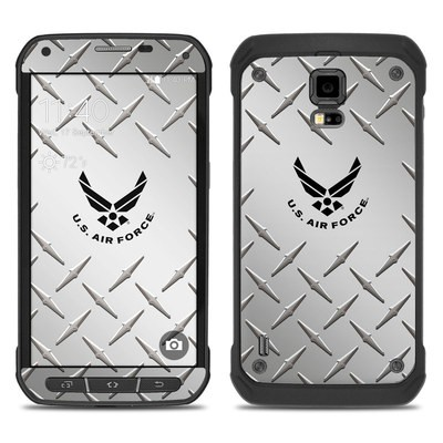 Samsung Galaxy S5 Active Skin - USAF Diamond Plate