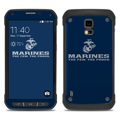 Samsung Galaxy S5 Active Skin - USMC Blue