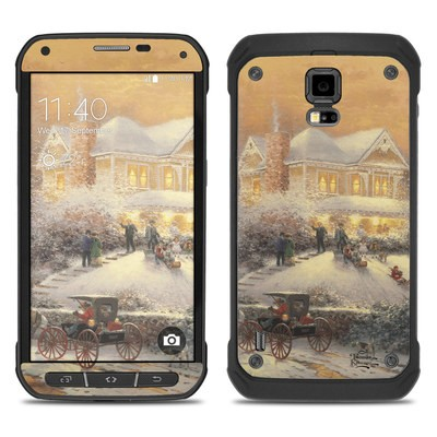 Samsung Galaxy S5 Active Skin - Victorian Christmas