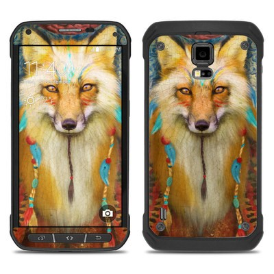 Samsung Galaxy S5 Active Skin - Wise Fox