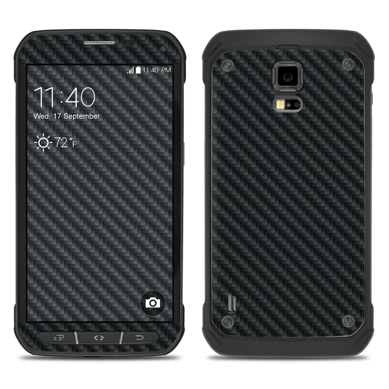 the best attitude 3a48c 43abb Samsung Galaxy S5 Active Skin - Carbon by DecalGirl Collective