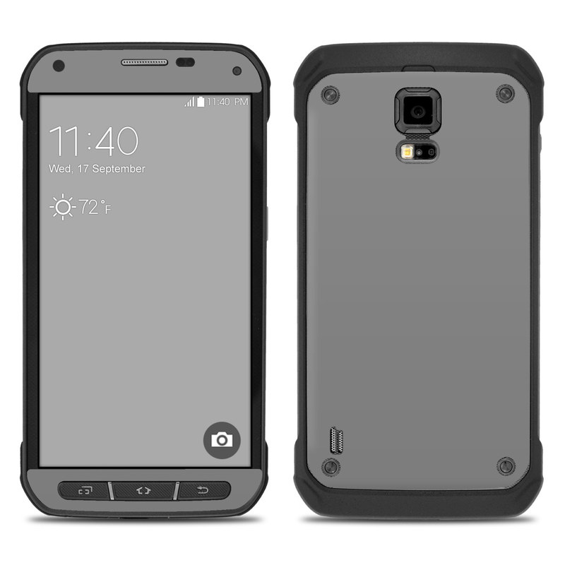 super popular b184c 718f4 Samsung Galaxy S5 Active Skin - Solid State Grey