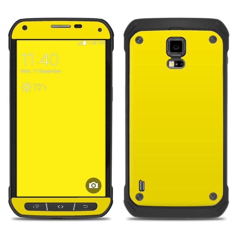 galaxy s5 case yellow
