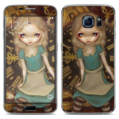 Samsung Galaxy S6 Skin - Alice Clockwork