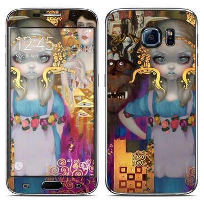 Samsung Galaxy S6 Skin - Alice in a Klimt Dream