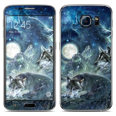 Samsung Galaxy S6 Skin - Bark At The Moon