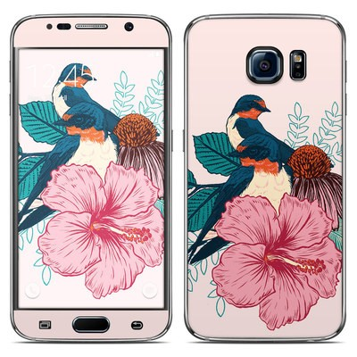 Samsung Galaxy S6 Skin - Barn Swallows