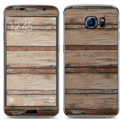 Samsung Galaxy S6 Skin - Boardwalk Wood
