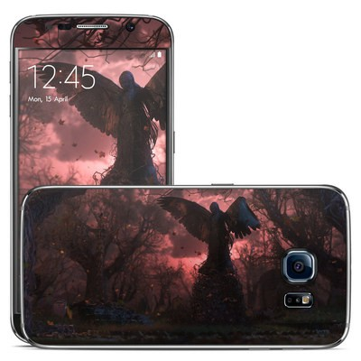 Samsung Galaxy S6 Skin - Black Angel