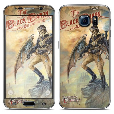Samsung Galaxy S6 Skin - The Black Baron