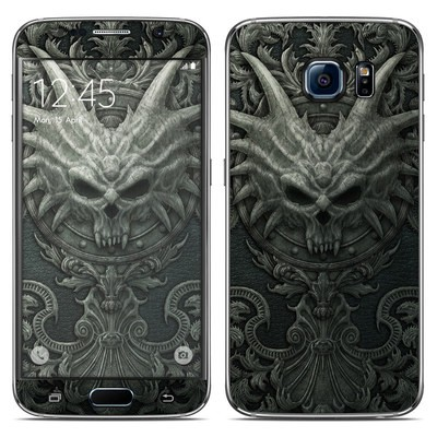 Samsung Galaxy S6 Skin - Black Book