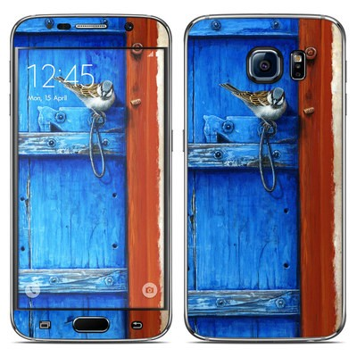 Samsung Galaxy S6 Skin - Blue Door