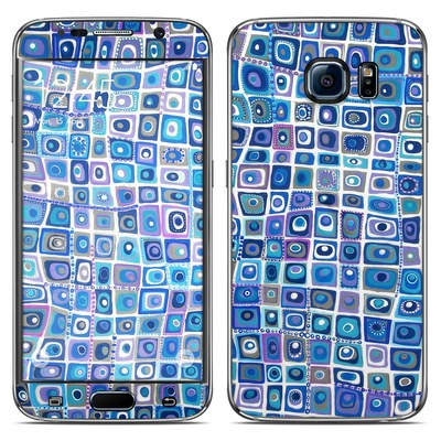 Samsung Galaxy S6 Skin - Blue Monday
